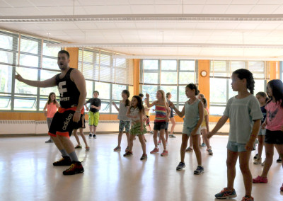 Children Dancing to Justin Bieber - Camp Pattuhnke 2015